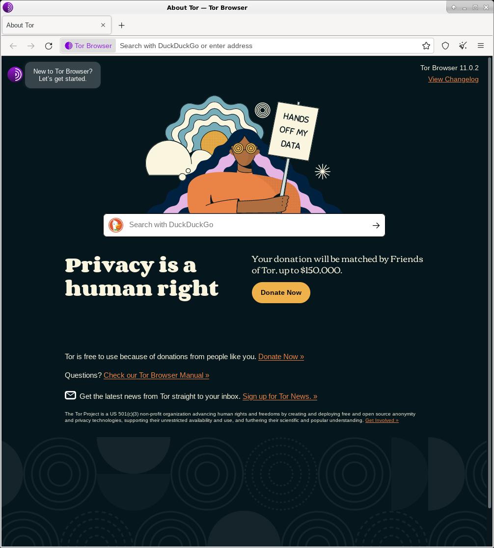 как ускорить работу tor browser