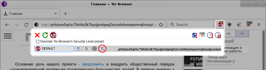 tor browser не открывает сайты onion gidra